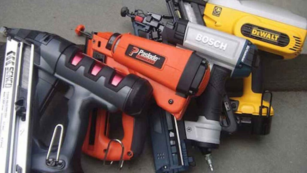 different types of nail guns